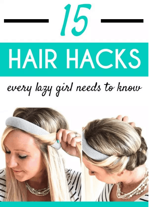 Here are 15 Super Easy Hair Hacks For All Us Lazy Girls