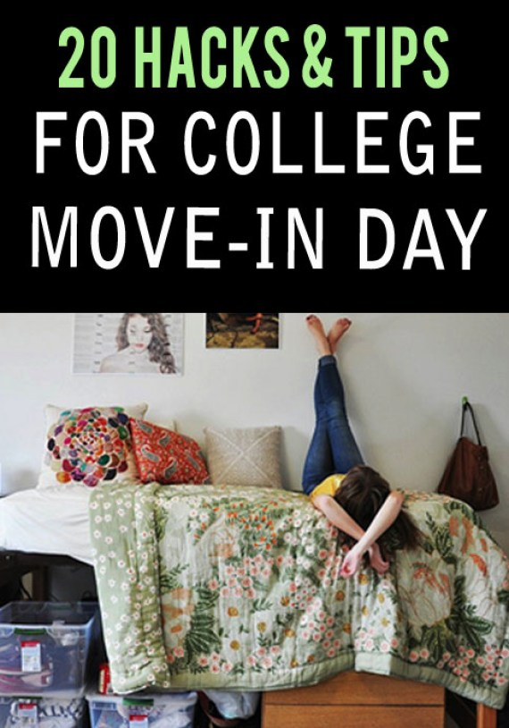 20 Hacks Amp Tips To Make College Move In Day A Breeze