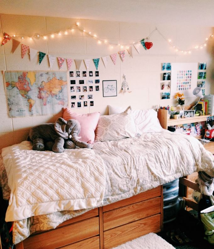 How to decorate your dorm walls without causing damage society19 - How to decorate a single room ...