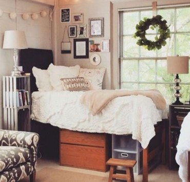 Dorm rooms can get unbelievably cramped. To squeeze in all of your belongings, you have to get creative. Here are 10 tips to save space in your ESU dorm!