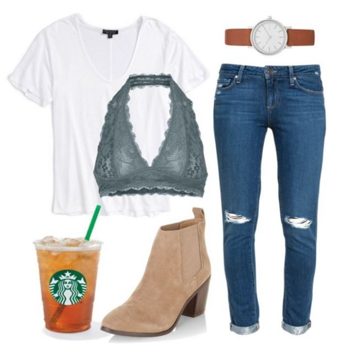 20 First Day Of School Outfit Ideas For College Girls ...
