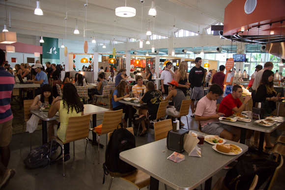 eating at the University of Miami