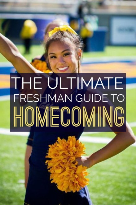 Homecoming is such a fun event and as a freshman you don't want to be left in the dark! Here's the ultimate guide to dominating your first homecoming!