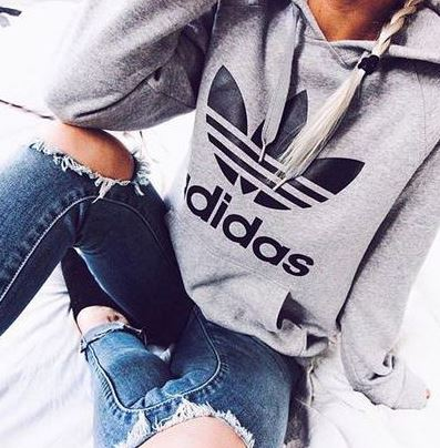 I love this Adidas hoodie!