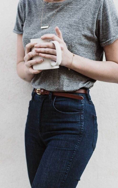 This basic casual outfit is so cute!