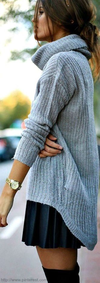 Red Fall sweaters