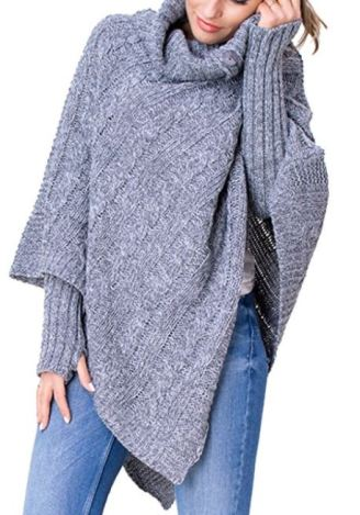 Fall sweaters you need in your closet this season - Grey Poncho
