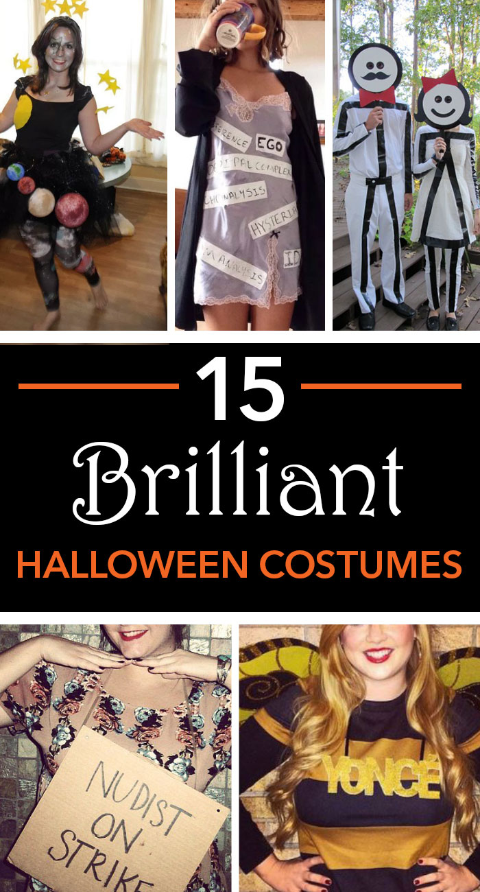 Here are 15 brilliant Halloween costume ideas perfect to wear to any themed uni party this season. & 15 Brilliant Halloween Costume Ideas For Uni Parties - Society19 UK