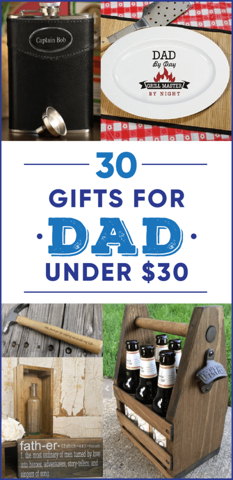 These gifts for dad who has everything are so cute!
