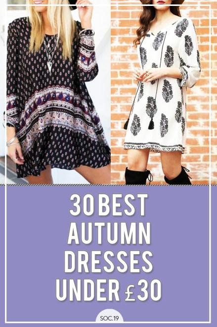 30 Best Autumn Dresses Under 30