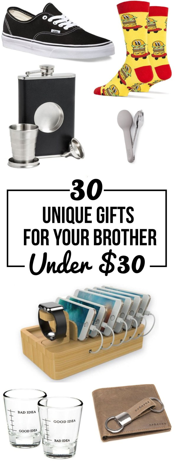 These gifts for your brother are the best ideas!