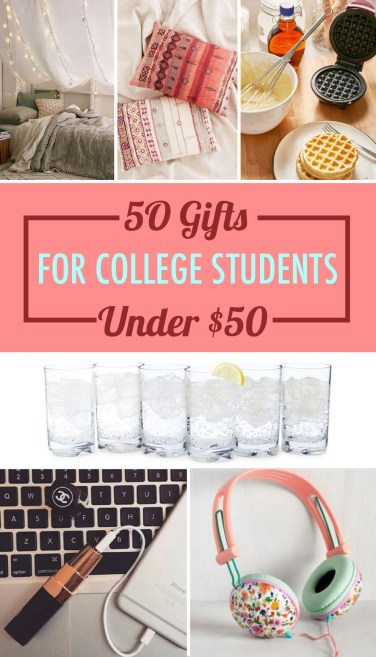 These gifts for college students under $50 are such great ideas!