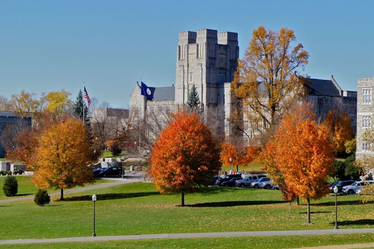 Summer's officially over, and in case you weren't already sold on pulling out your scarves, here's 10 reasons to love fall at Virginia Tech!