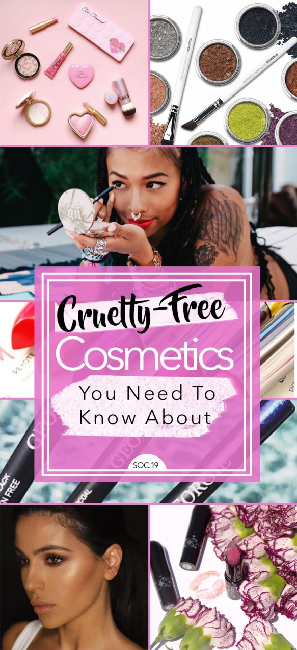Cruelty-Free Cosmetics You Need to Know About