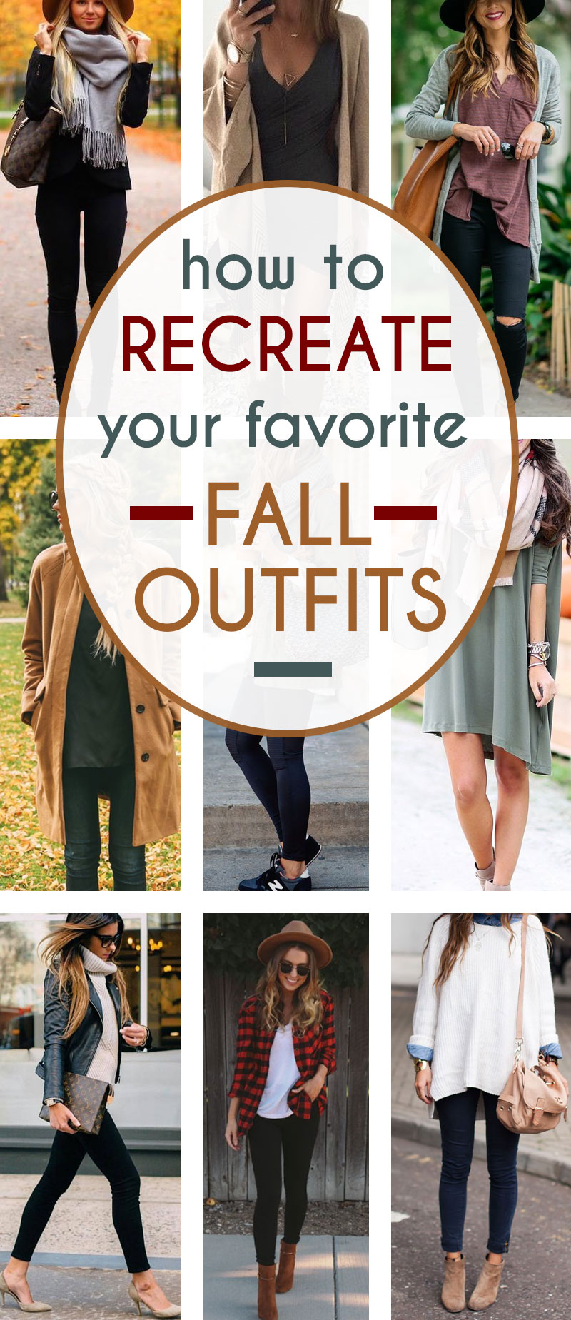 I can't wait to try and recreate these gorgeous fall outfits!