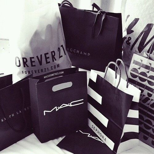 The best gift a girl could get is probably a shopping trip!
