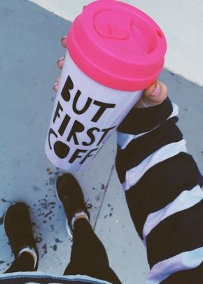 Every college student will appreciate a travel mug to help them stay awake on the go.