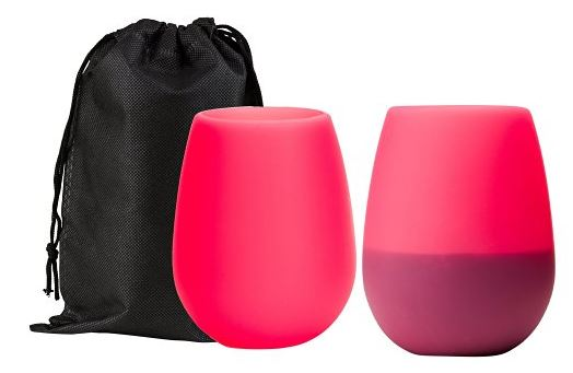 These wine glasses will keep your drink safe and sound.