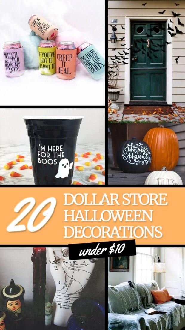 20 Dollar Store Halloween Decorations under $10