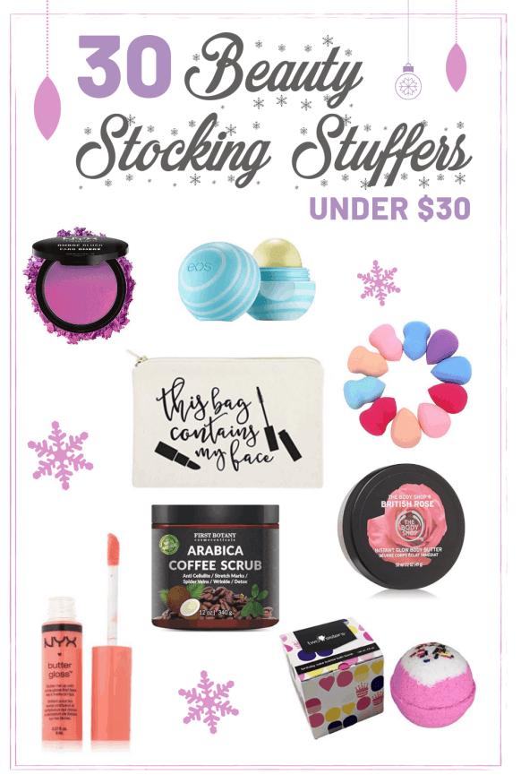 30 Beauty Stocking Stuffers under $30