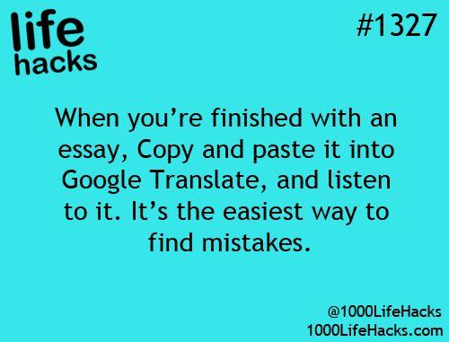 google-translate-essay