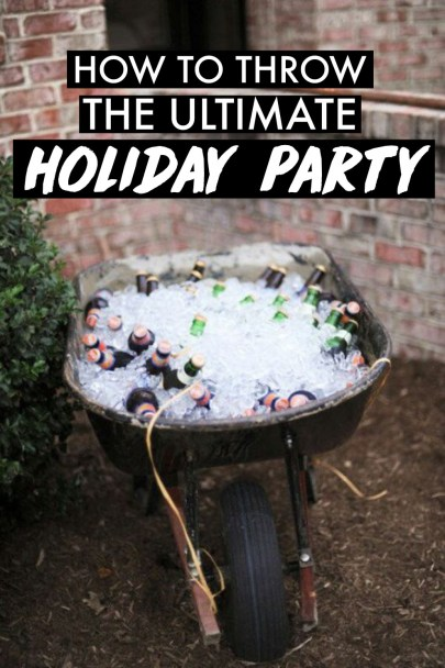 This is how you throw the absolute best holiday party!