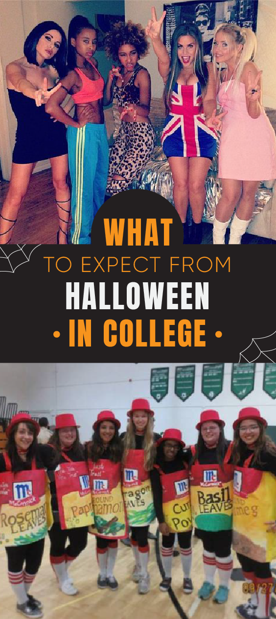 College Halloween is a whole other level. Here is everything you to expect!
