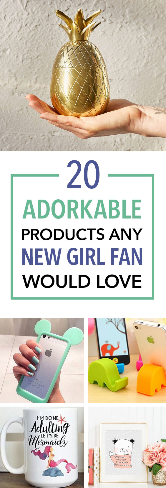 These adorable products are perfect gifts for New Girl fans!