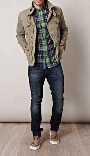 Flannels are perfect for fall weather.