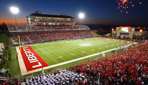 Football is the best part of fall at Liberty University!