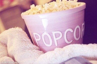 There's always an excuse to eat popcorn.