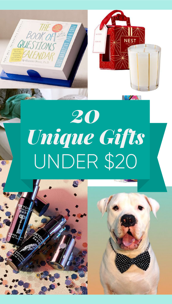 these unique gifts under $20 are such cute gift ideas!