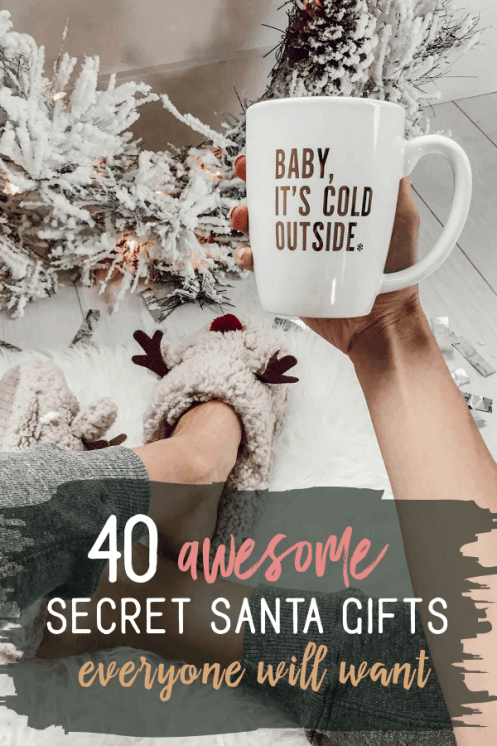 40 Awesome Secret Santa Gifts People Actually Want
