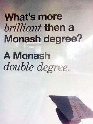 Oh the monash typos.