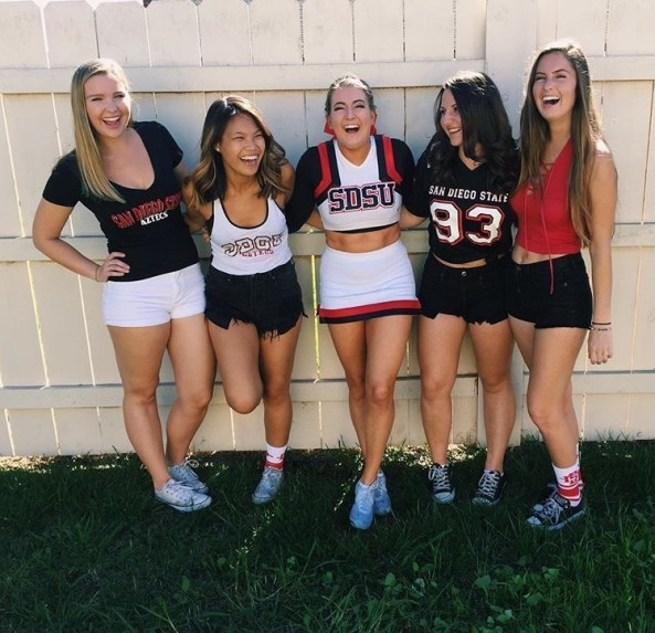 10 Adorable Gameday Outfits At SDSU