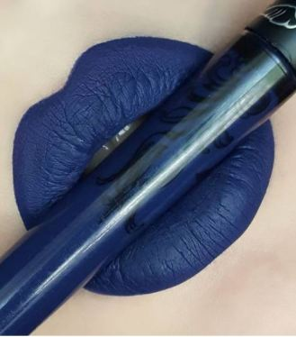 Echo by Kat Von D is the perfect blue shade!