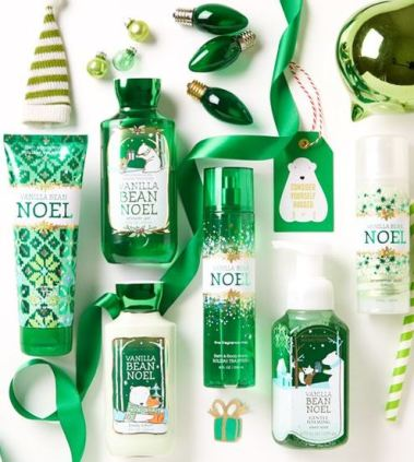 this vanilla bean noel lotion set is amazing!