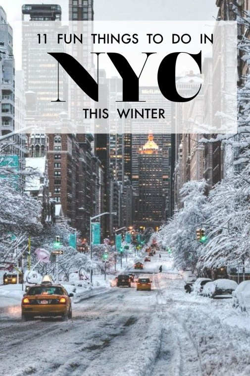 These are the most fun activities to do in NYC this winter!