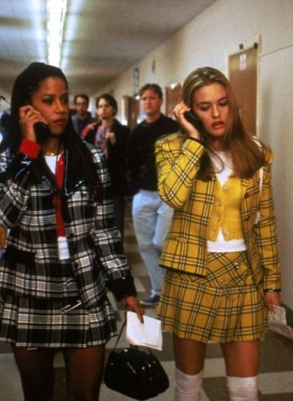 Cher Horowitz was the queen of plaid outfits and plaid fashion in the 90s!