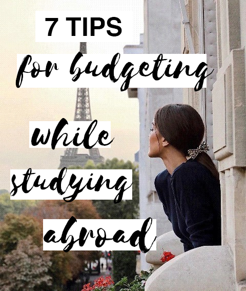 Budgeting while you are studying abroad can be tough, here are some tips!
