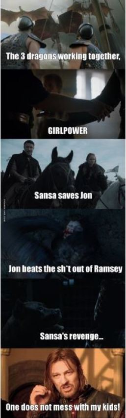 These funny scenes and quotes from Game Of Thrones are so great!
