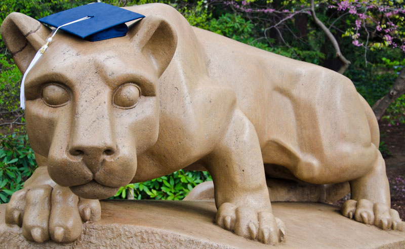 10 Best Places To Cry When You Just Can't Anymore At Penn State University