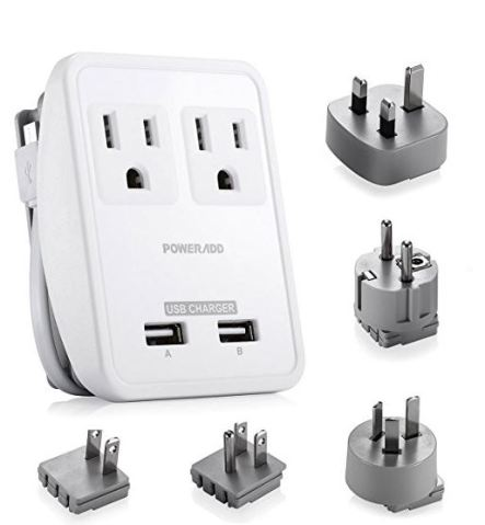 an adapter pack will save your life while studying abroad!