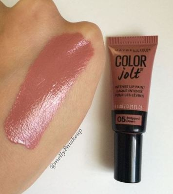I love this maybelline cosmetics color jolt lipstick
