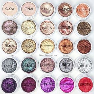 Colourpop has amazing eyeshadow colors to choose from!