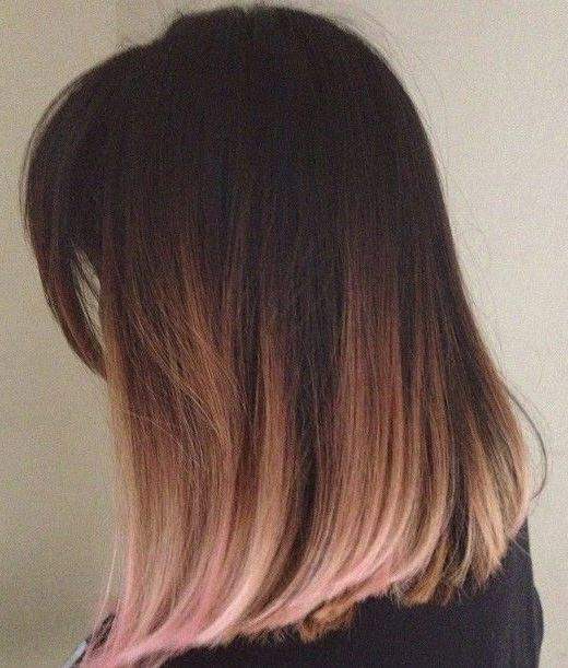 died hair styles 21 gold hairstyles that are total hair goals society19 4973 | dip dye rose gold