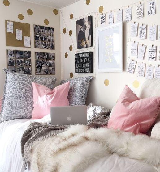 Charmant This Is One Of The Cutest Dorm Room Ideas For Girls!