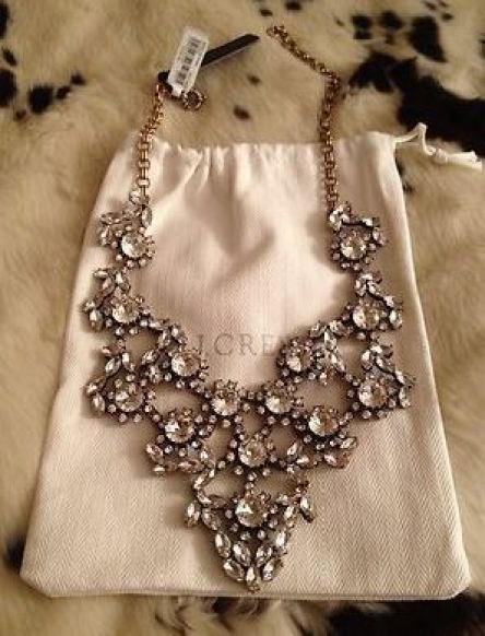 This statement necklace from J. Crew is so pretty!