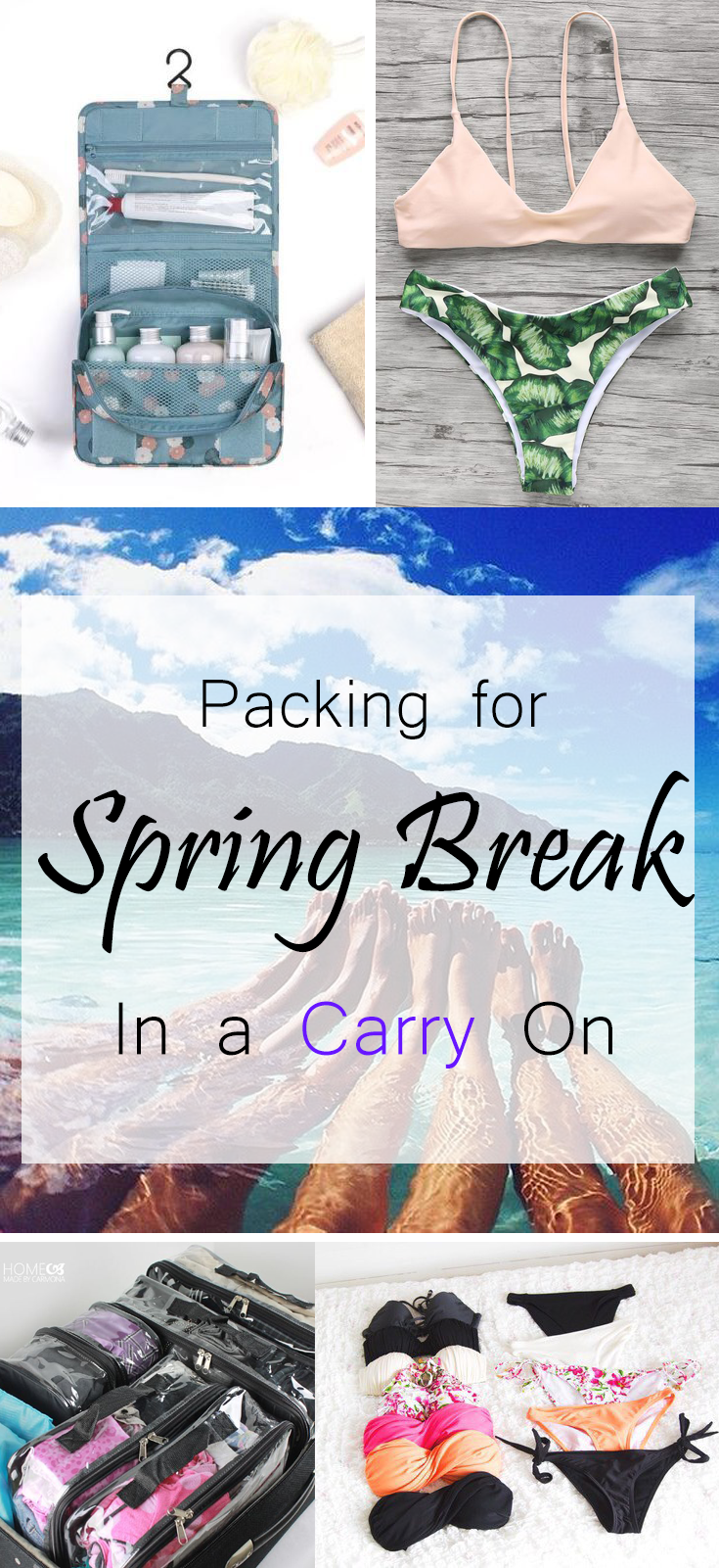 Packing for Spring Break in a Carry On