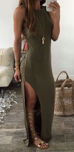 Gladiator sandals are the perfect accessory for summer outfits!